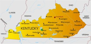 Kentucky Political Map | Large Printable High Resolution and Standard Map