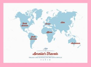 The World Continent Map   Large, Printable, Children Choice,Political Map