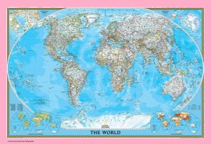 The World Political Map | Large, Printable, Children Choice, Political Map 8