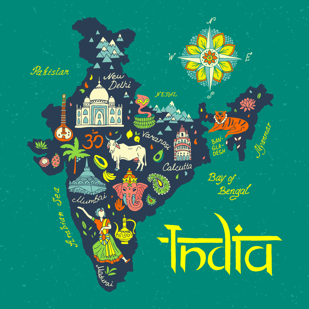 41 Amazing Interesting Facts About India | Things To Do In India