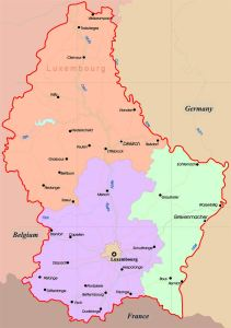 Map of Luxembourg | Printable Large Attractive HD Map