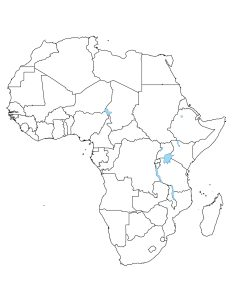 Blank Map of Africa | Large Outline Map of Africa