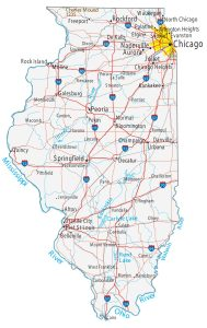Map of Illinois | Political, Physical, Geographical, Transportation, And Cities Map