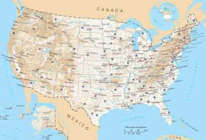 Road Map of USA | Interstate Highway Network Map