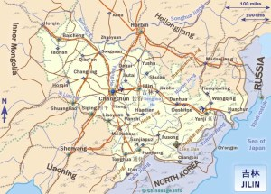 Map of Jilin Province | Political, Blank, Geography And Cities Map