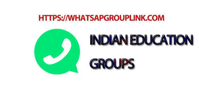 Indian Education WhatsApp Group Link - Whatsapp Group Link