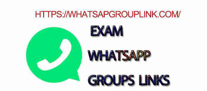Join New Exam WhatsApp Group Link - Whatsapp Group Link