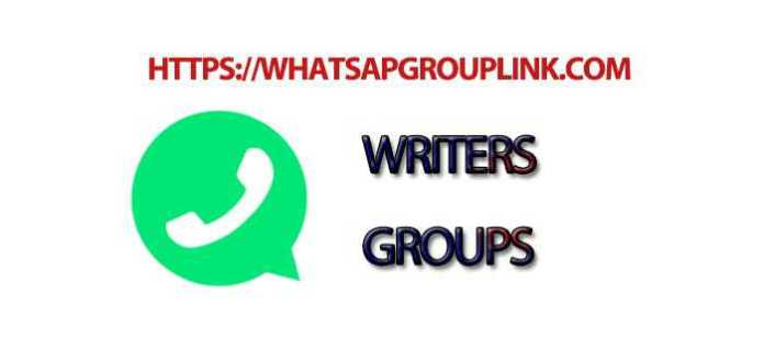 Join New Writers WhatsApp Group Link - Whatsapp Group Link