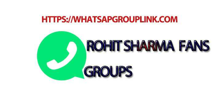 Join New Rohit Sharma Fans WhatsApp Group Link!