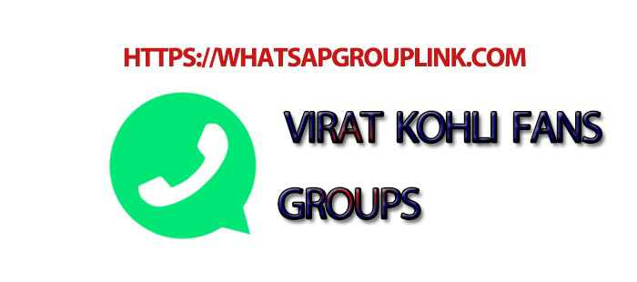 Join New Virat Kohli Fans WhatsApp Group Link - Whatsapp