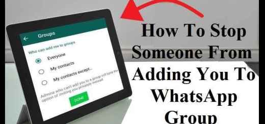 How to block group adds