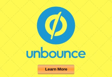 Unbounce voted best landing page builder