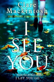 #BookReview I See You by Clare Mackintosh @claremackint0sh @BerkleyPub