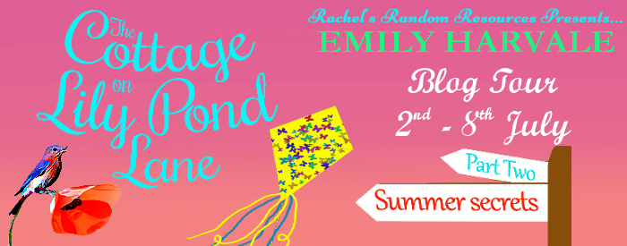 #BookReview #BlogTour  #LilyPondLane The Cottage on Lily Pond Lane Part 2: Summer Secrets by Emily Harvale @emilyharvale @rararesources