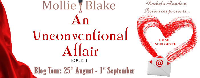 #BookReview #BlogTour #Giveaway An Unconventional Affair - Email Indulgence by Molly Blake @MollieBlake0 @rararesources