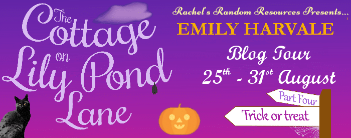 #BookReview #BlogTour #LilyPondLane The Cottage on Lily Pond Lane Part 4: Trick or Treat by Emily Harvale @emilyharvale @rararesources