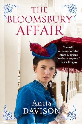 #BlogTour #GuestPost The Bloomsbury Affair by Anita Davison @AnitaSDavison @aria_fiction