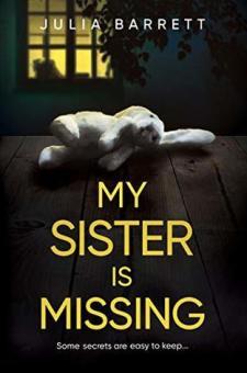 #BlogTour #BookReview My Sister is Missing by Julia Barrett @Julia_Barrett_ @RedDoorBooks #MySisterisMissing