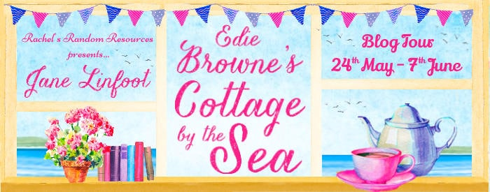 #BookReview #BlogTour Edie Browne's Cottage by the Sea by Jane Linfoot @janelinfoot @HarperImpulse @rararesources