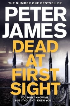 #BookReview Dead at First Sight by Peter James @peterjamesuk @PGCBooks @panmacmillan