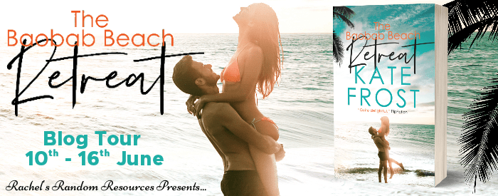 #BookReview #BlogTour #GiveawayThe Baobab Beach Retreat by Kate Frost @actus77 @rararesources