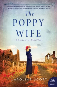 #BookReview The Poppy Wife by Caroline Scott @WmMorrowBooks @HarperCollinsCa #ThePoppyWife