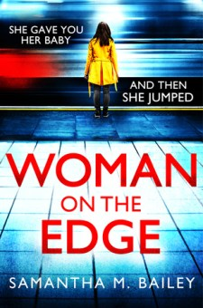 #BookReview Woman on the Edge by Samantha M. Bailey @sbaileybooks @SimonSchusterCA