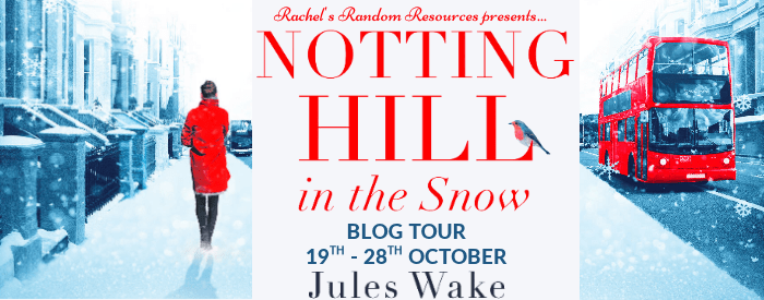 #BookReview #BlogTour Notting Hill in the Snow by Jules Wake @Juleswake @0neMoreChapter_ @rararesources