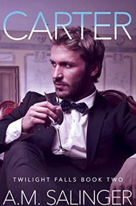 #BlogTour #BookReview #Giveaway Carter (Twilight Falls #2) by A.M Salinger @XpressoReads