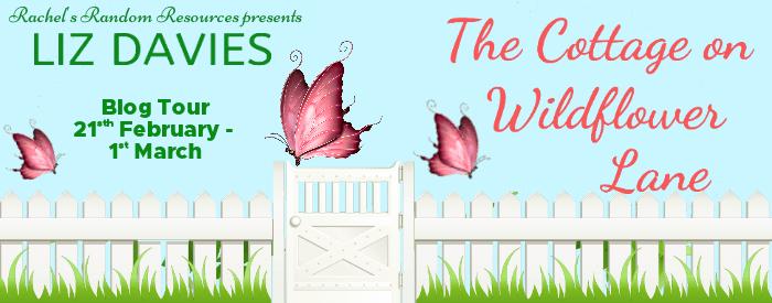 #BlogTour #BookReview The Cottage on Wildflower Lane by Liz Davies @lizdaviesauthor @rararesources