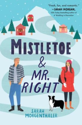 #BookReview Mistletoe & Mr. Right by Sarah Morgenthaler @SEmorgenthaler @SourcebooksCasa #MistletoeMrRight #MooseSprings #SourcebooksCasa