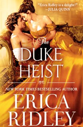 #BookReview The Duke Heist (The Wild Wynchesters #1) by Erica Ridley @readforeverpub @grandcentralpub #ReadForever #Forever2021 #TheDukeHeist #EricaRidley #TheWildWynchesters
