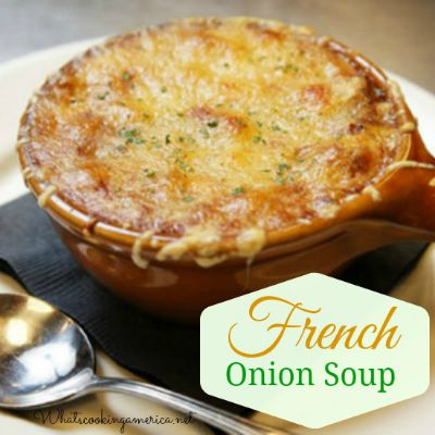 Best French Onion Soup Recipe, Whats Cooking America