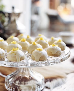 High Tea Lemon Cookies Recipe Whats Cooking America