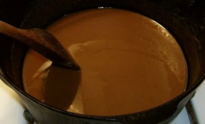 Louisiana Style Roux Recipe Whats Cooking America