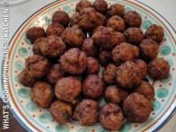 Greek Keftedakia....Meatballs