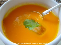 Carrot And Orange Cold Summer Soup ©