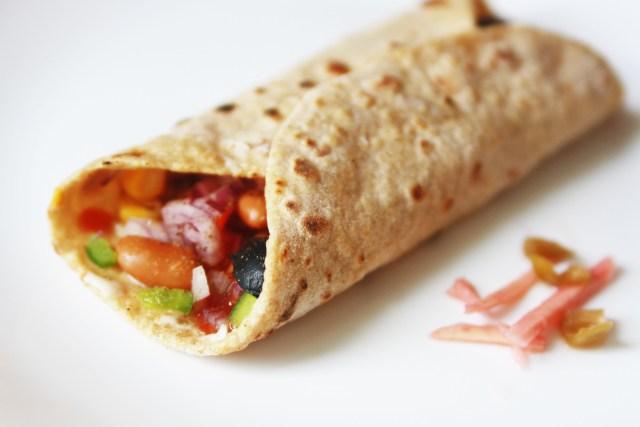 Rajma Burritos