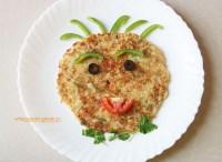 Suji Uttapam - semolina pancakes, vegetarian, breakfast, snack, Indian, kids lunch box, school lunch box, tiffin ideas