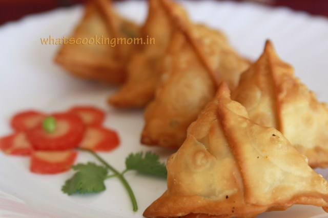 potato peas samosas