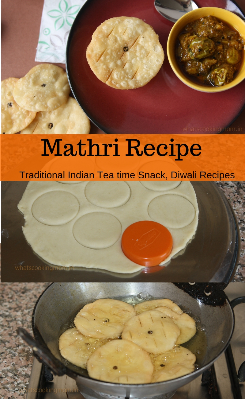 Mathri recipe - Traditional Indian Tea time snack, Diwali snack recipe