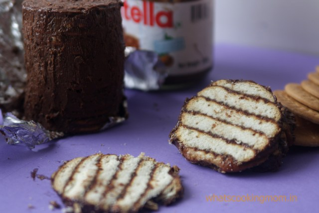 mocha biscuit cake 7