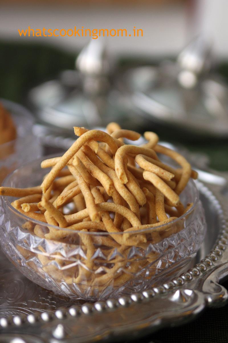 Besan ki Sev #indian #snack #festival #fried #besan | whatscookingmom.in