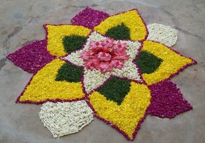 flowerrangoli