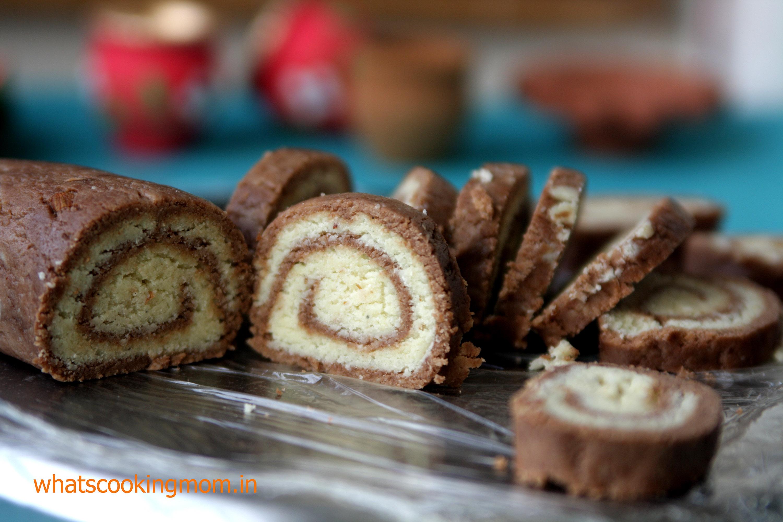 choco mawa rolls 1