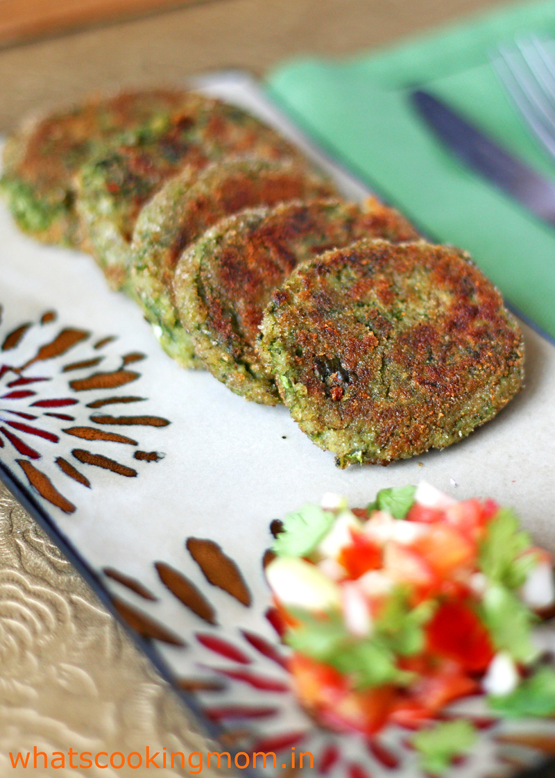 Hara Bhara Kabab - A yummy vegetarian tea time snack and appetizer