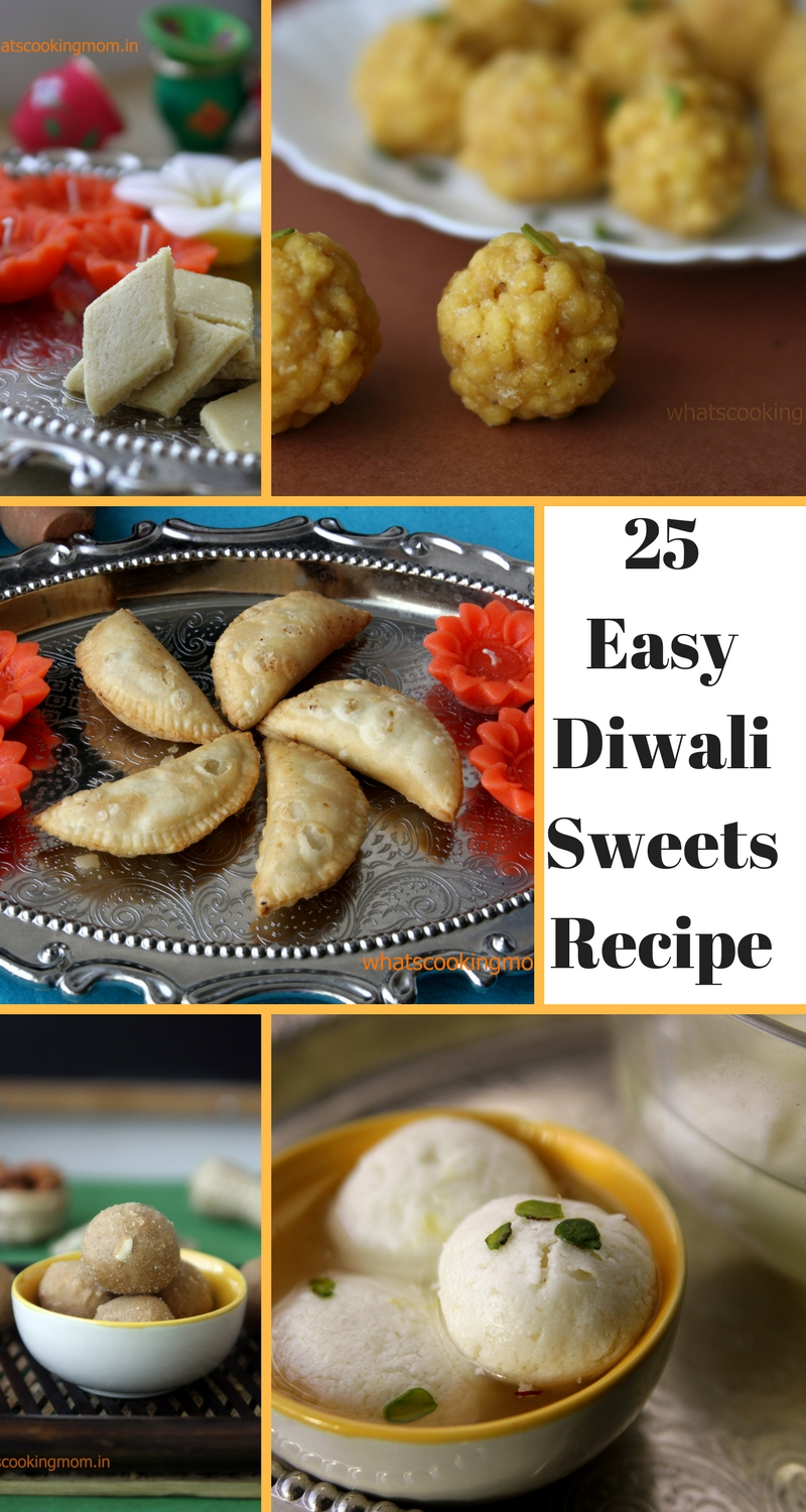 25 Easy Diwali Sweets Recipes Indian Sweets Whats