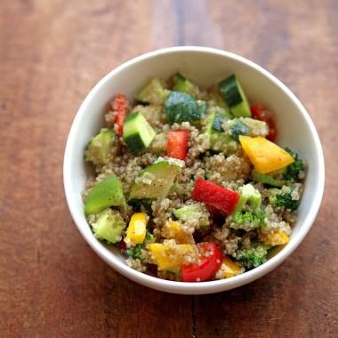 quinoa salad #healthy #salad #quinoa #superfood