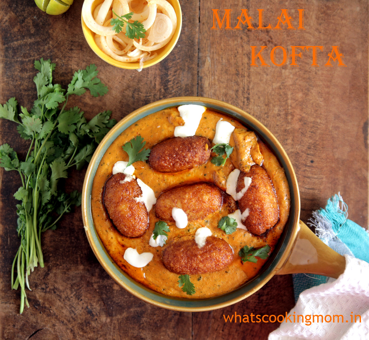 Malai Kofta Recipe - Popular #Indian #Vegetarian #Curry