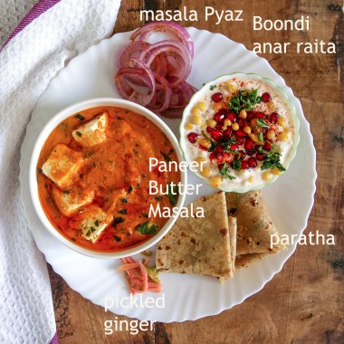 15 vegetarian Indian lunch ideas part 2 - #indian #lunchideas #vegetarian #thali